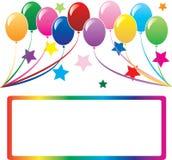 Fond 3 de ballon Images libres de droits