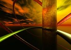 fond 3d abstrait Photographie stock libre de droits