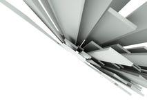 fond 3d architectural abstrait illustration libre de droits