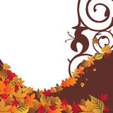 Fond 4 d'automne Image libre de droits