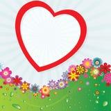 Fond 6 de fleur Images libres de droits