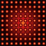 Fond abouti de lumières Images stock