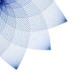 Fond abstracty floral dans le style linéaire pour la conception Vecteur Photographie stock