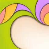 Fond abstrait. Été et source colors.jpg Image libre de droits