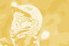Fond abstrait 006 de motocross Photos libres de droits