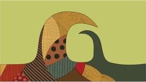 Fond abstrait. Images libres de droits