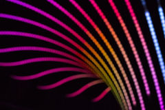 Fond abstrait au néon photographie stock libre de droits