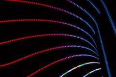 Fond abstrait au néon photo stock