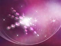 Fond abstrait avec des étoiles Images stock