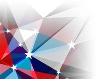 Fond abstrait avec des étoiles Image libre de droits