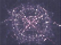 Fond abstrait avec des étoiles Agrafe art Image stock