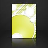 Fond abstrait avec des cercles de livre blanc Image stock
