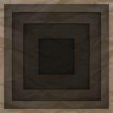 Fond abstrait avec des couches de papier brun Photo libre de droits