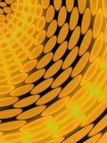 Fond abstrait avec des ovales illustration stock