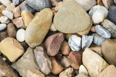 Fond abstrait avec des pierres Image stock