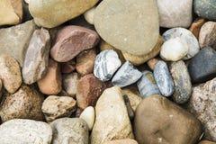 Fond abstrait avec des pierres Photographie stock libre de droits