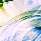 Fond abstrait avec des sphères Illustration Stock