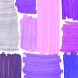 Fond abstrait avec des taches de course de couleur Photos stock