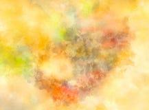 Fond abstrait avec des taches et des structures d'aquarelle Images libres de droits