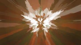 Fond abstrait avec des taches, des transitions et des courbures de couleur illustration stock