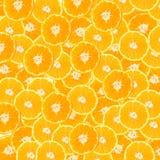 Fond abstrait avec des tranches de mandarine Configuration sans joint pour la conception Plan rapproché Brosse à dents photographie stock libre de droits