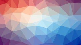 """Fond abstrait avec des triangles """"D'â de trame – 4 Photographie stock libre de droits"""
