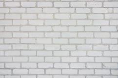 Fond abstrait avec douze pleines rangées de la brique blanche de silicate images libres de droits