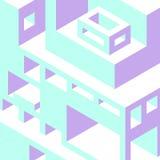 Fond abstrait avec figures géométriques Images libres de droits