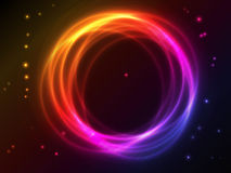 Fond abstrait avec l'effet de plasma Image stock