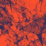 Fond abstrait avec la grille pointillée Image libre de droits
