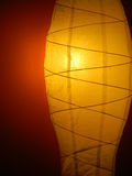 Fond abstrait avec la lampe d'éclairage Photographie stock