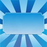 Fond abstrait avec la plaque signalétique Photos stock