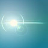Fond abstrait avec la réflexion Image stock
