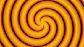 Fond abstrait avec la rotation de la spirale hypnotique Fond psychédélique en spirale de tunnel de remous illustration libre de droits