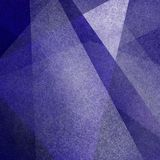 Fond abstrait avec la tache floue et les triangles et la texture géométriques blanches Photographie stock libre de droits
