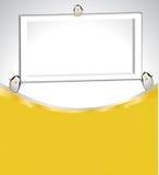 Fond abstrait avec le cadre et entouré par p Photo libre de droits