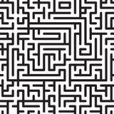 Fond abstrait avec le labyrinthe complexe Photos stock