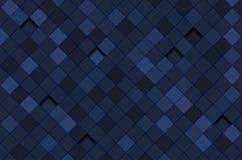Fond abstrait avec le modèle carré illustration stock