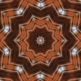 Fond abstrait avec le modèle de fractale Conception d'impression pour la décoration extérieure illustration pour le thème de médi illustration libre de droits