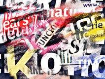 Fond abstrait avec le texte Photos libres de droits