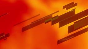 Fond abstrait avec le verre de lignes rouges illustration stock