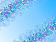 Fond abstrait avec les bulles colorées illustration libre de droits