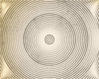 Fond abstrait avec les cercles concentriques sales Photographie stock libre de droits
