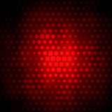 Fond abstrait avec les cercles rouges Photo stock