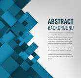 Fond abstrait avec les grands dos colorés Descripteur de conception d'affaires Vecteur Image libre de droits