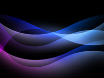Fond abstrait avec les lignes multicolores illustration libre de droits