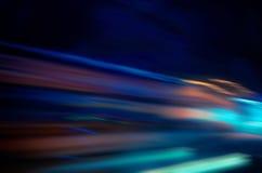 Fond abstrait avec les lumières defocused de bokeh Images stock