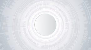 Fond abstrait avec les ondes colorées Vecteur Conception ondulée élégante Image stock