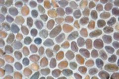 Fond abstrait avec les pierres reeble rondes sèches Photos libres de droits