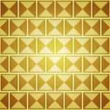 Fond abstrait avec les places d'or Images stock